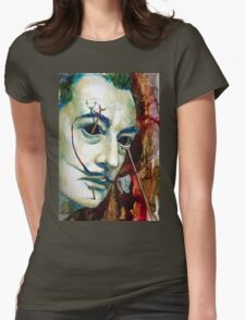 Dali 2 Womens Fitted T-Shirt
