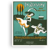 IN ROMANY (vintage illustration) Canvas Print