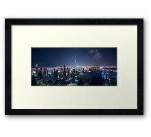Greetings from Planet Coruscant Framed Print
