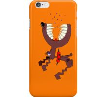 Angry DOG orange iPhone Case/Skin