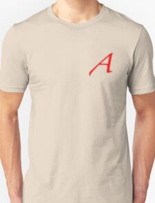 Scarlet letter - A for Atheism T-Shirt