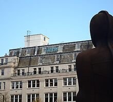 Statue in the centre of Birmingham by Nick Pautrat
