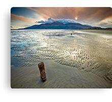 Murlough Sunset Canvas Print