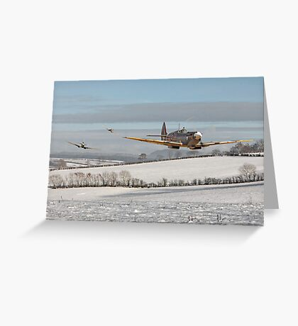 Spitfire - Follow my Leader Greeting Card