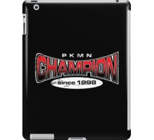 Pokemon Champion_Red_DarkBG iPad Case/Skin