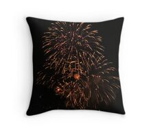 NYE Fireworks 2012 3 Throw Pillow