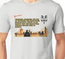 5th Of November V for Vendetta Unisex T-Shirt