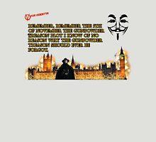 5th Of November V for Vendetta T-Shirt