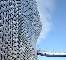 Facade of Bullring Shopping Centre, Birmingham, England by Nick Pautrat