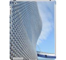 Facade of Bullring Shopping Centre, Birmingham, England iPad Case/Skin