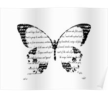 Butterfly Type Poster