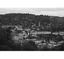 Bath from Prior park Photographic Print