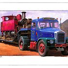 Scammell low loader by Mike Jeffries