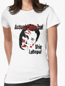 Actual Cannibal Womens Fitted T-Shirt