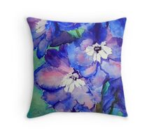 Sapphire Throw Pillow
