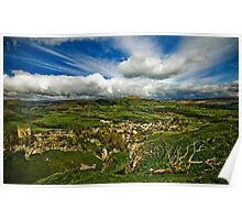 Castleton In The Peak District Poster
