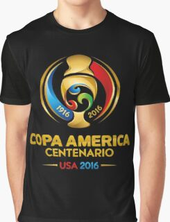 Copa America Centenario, Usa 2016 Graphic T-Shirt