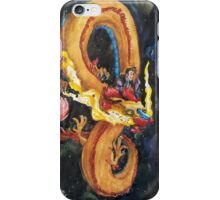The Doctor and a Space Dragon iPhone Case/Skin