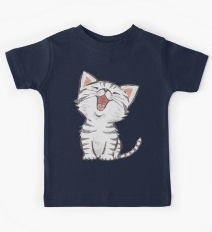 American Shorthair happy Kids Tee
