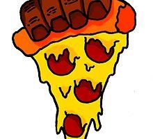 Cheesy Pizza by mindsmoke