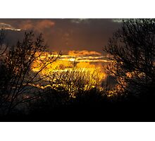 Stormy sunset.. Photographic Print