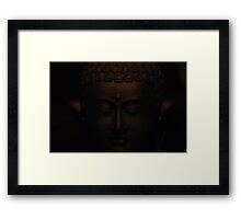 Dark Buddha Framed Print