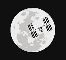 ISS and the Moon Unisex T-Shirt