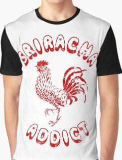 Sriracha Addict Vintage Graphic T-Shirt