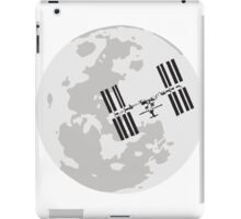 ISS and the Moon iPad Case/Skin