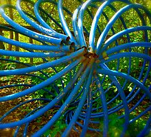 Twisty Garden Art By Jonathan Green by Jonathan  Green