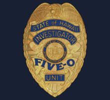 Hawaii 5-0 Badge (Large) by Sharknose