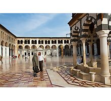 Great mosque Omeyah, Damascus, Syria  Photographic Print