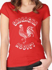 Sriracha Addict Vintage Women's Fitted Scoop T-Shirt