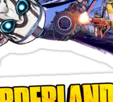 Borderlands the Pre-Sequel: Psycho and Heroes Sticker