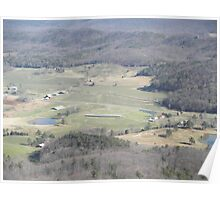 Valley From LookOutMountain Poster