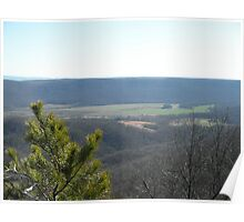 View From Lookout Mountain Poster