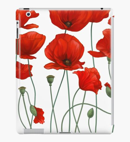 Poppy Stems. iPad Case/Skin