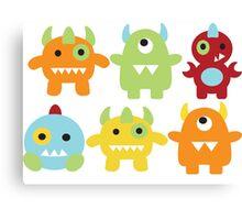 Little Monsters  Canvas Print