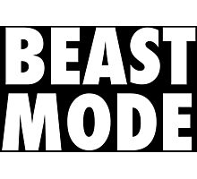 Beast Mode Photographic Print