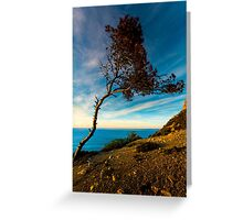 Leaning in Greeting Card