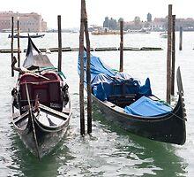 Venetian Gondola by Alice Oates