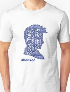 Allons-y, 10th Doctor, Doctor Who T-Shirt