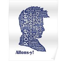 Allons-y, 10th Doctor, Doctor Who Poster