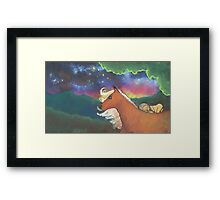 Lucy And The Sky With Diamonds Framed Print