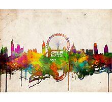 london city skyline 4 Photographic Print