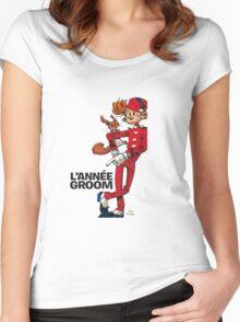 spirou Women's Fitted Scoop T-Shirt