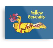 Yellow Serenity Metal Print