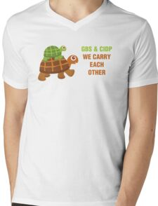 GBS & CIDP: We Carry Each Other Mens V-Neck T-Shirt