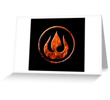 Fire Nation Greeting Card