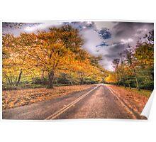 Autumn Wonderland - Mount Wilson NSW Australia - The HDR Experience Poster